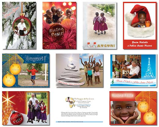 Christmas cards for the Village of Joy – 2008