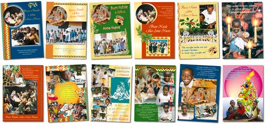 Christmas cards for the Village of Joy – 2004