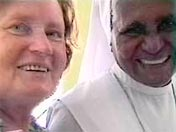 Swami Roberto's mother with sister Nancy