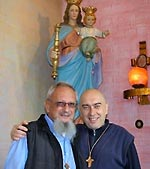 Father Fulgenzio Cortesi with our Founder