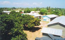 Partial view of the Village of Joy